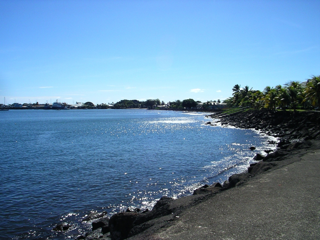 Beach in Apia, Samoa