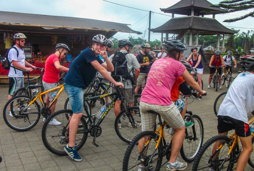 Cycle tour bali