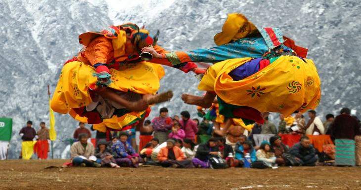 Jambhay Lhakhang Festival Bhutan