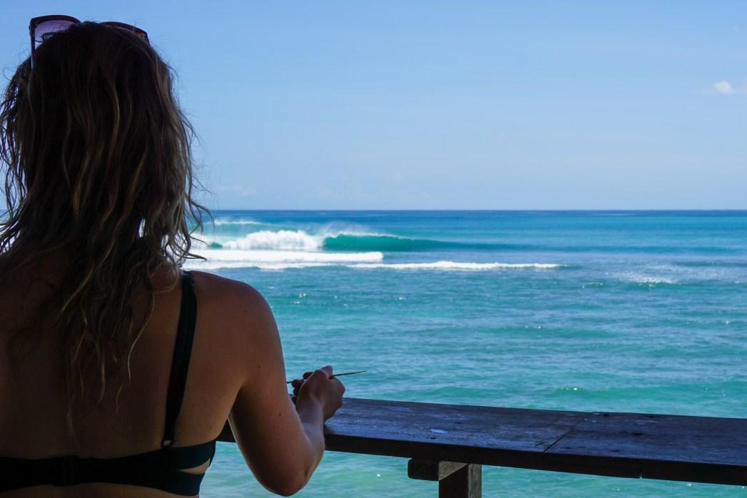 Bingin surf break