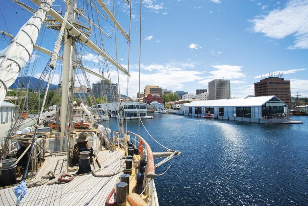 Brooke St Pier and Glass House Restaurant, Tourism Tasmania