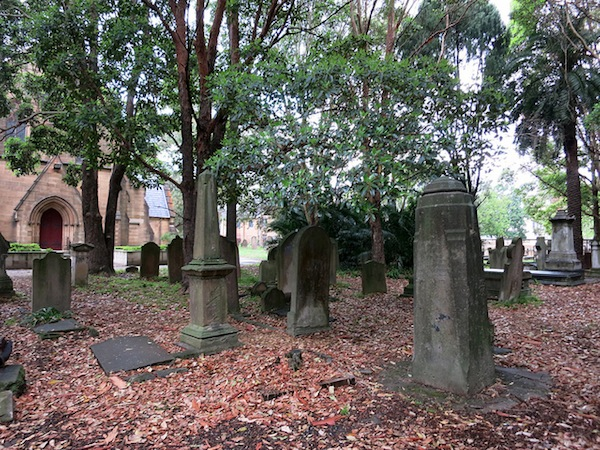The grounds of Camperdown Cemetery