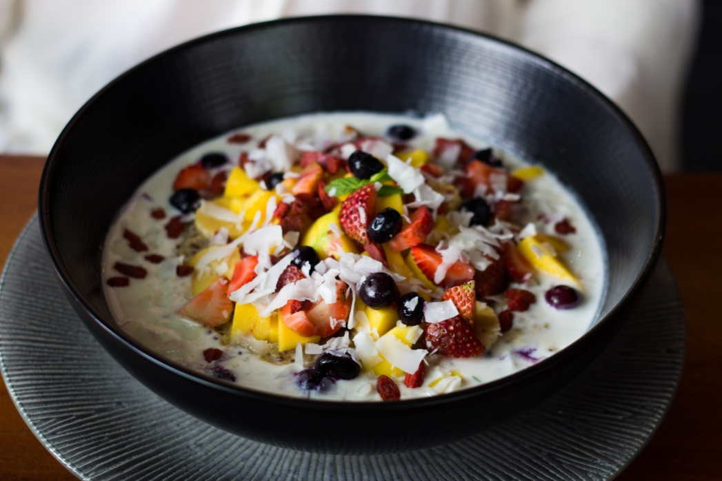 breakfast bowl at Green Garden Cafe
