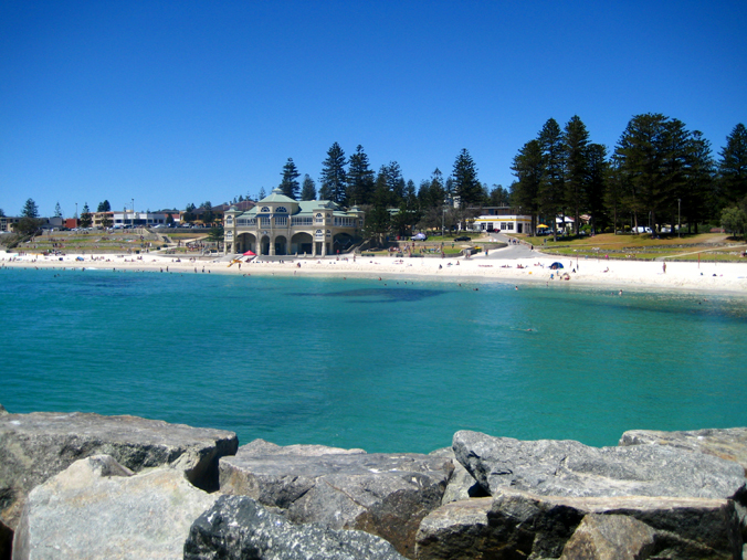 Cottesloe Beach is one of Perth's most popular - get there early to claim your piece of sand!