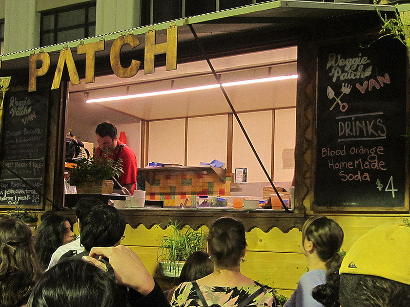Grab a taste of one of Sydney's legendary food trucks during Vivid