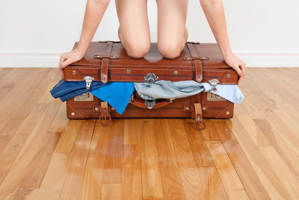 full luggage