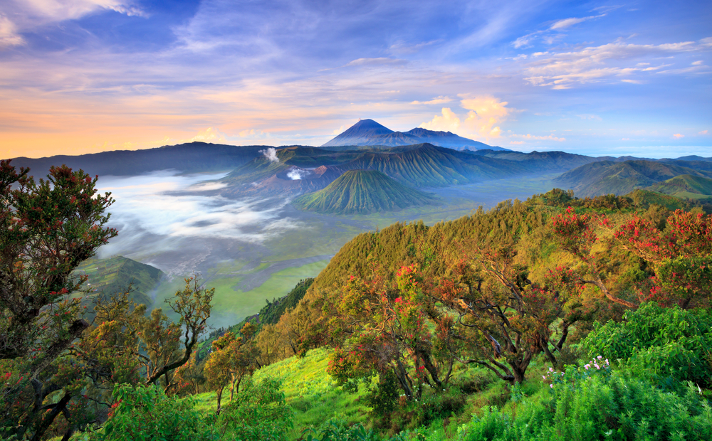 Bromo Mountain in East Java