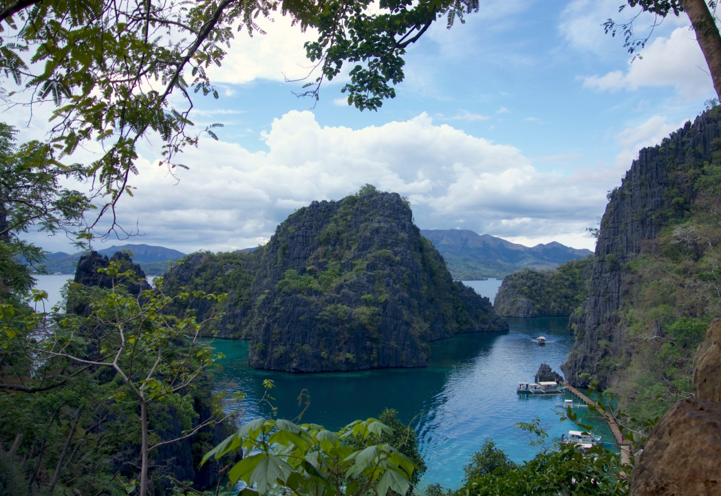 Most photographed spot in Coron