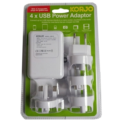 Korjo USB x4 Power Hub