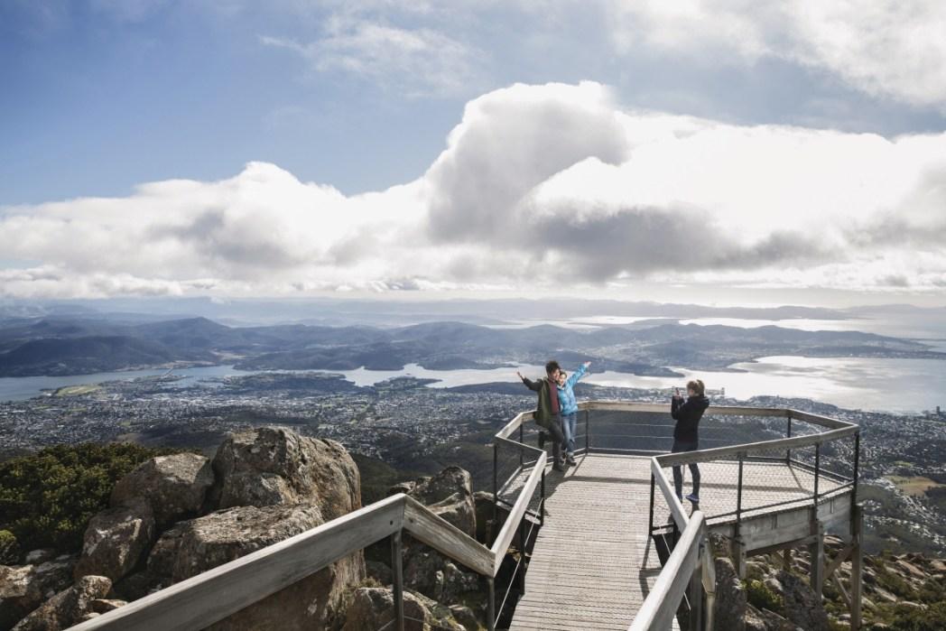 Mt Wellington Lookout, Photo Tourism Tasmania
