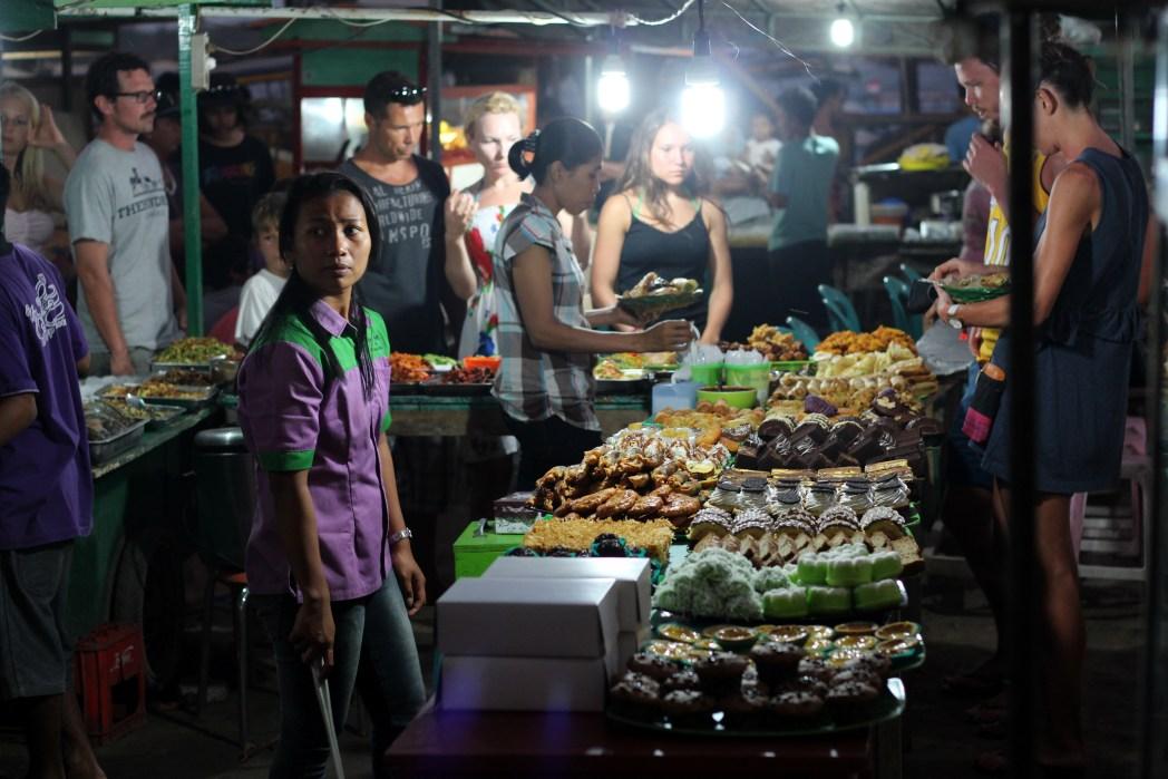 Gili T night market