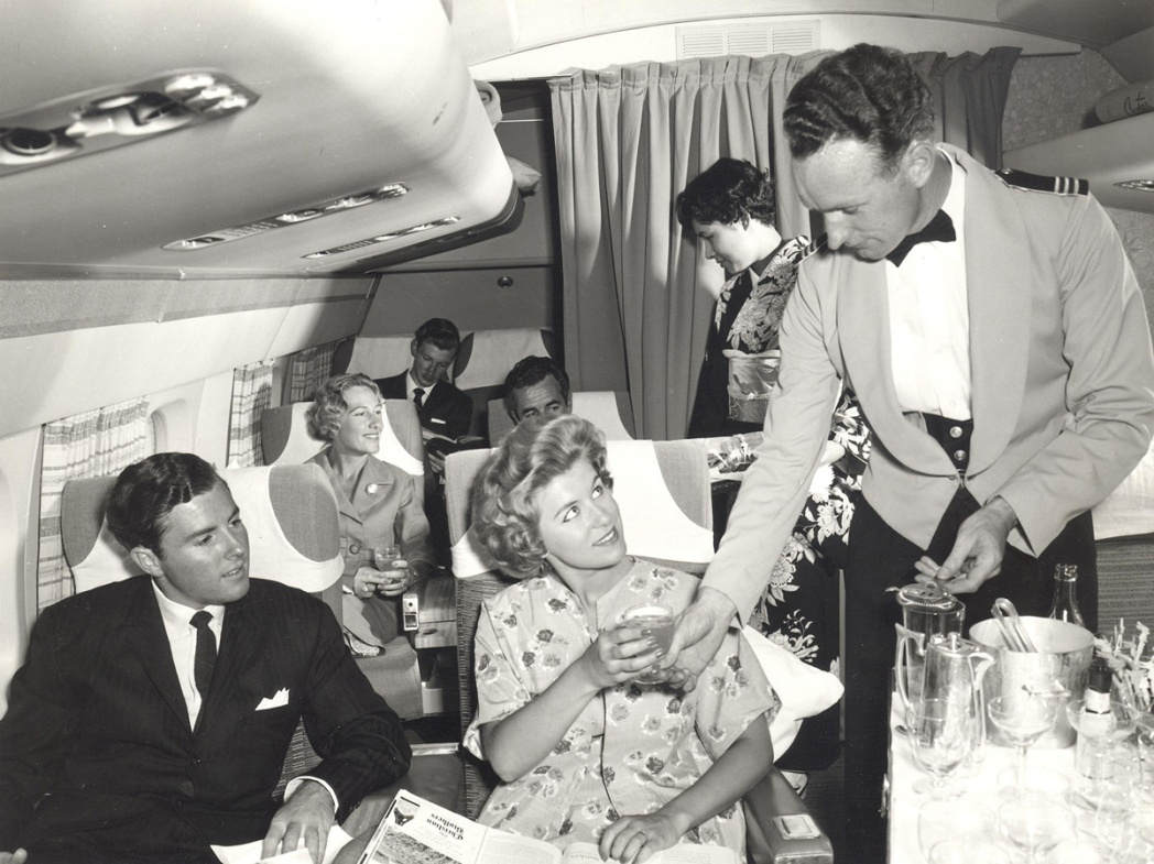 The Golden Age of plane travel: what flying was like in the