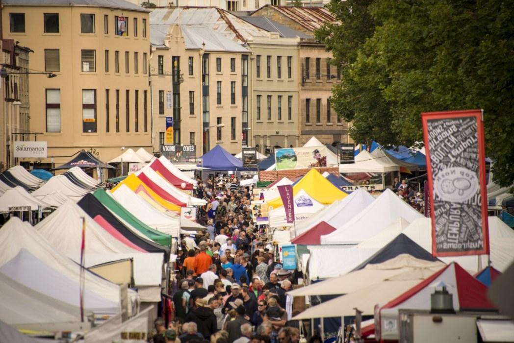 Salamanca Market, Tourism Tasmania
