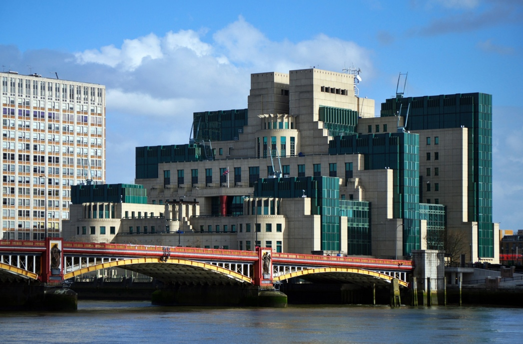 The SIS Building and the River Thames