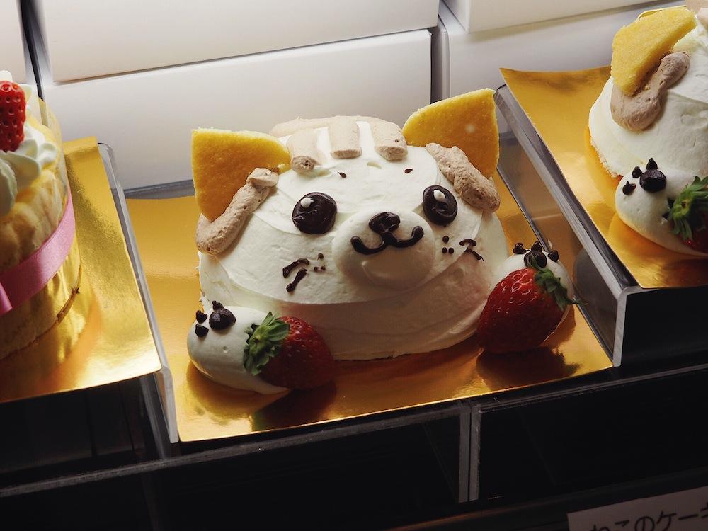 Cake in Mitsukoshi Ginza Tokyo