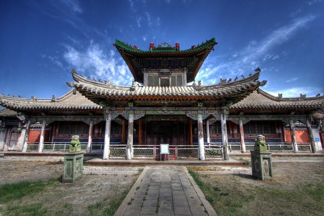 Winter Palace in Ulaanbaatar, Mongolia