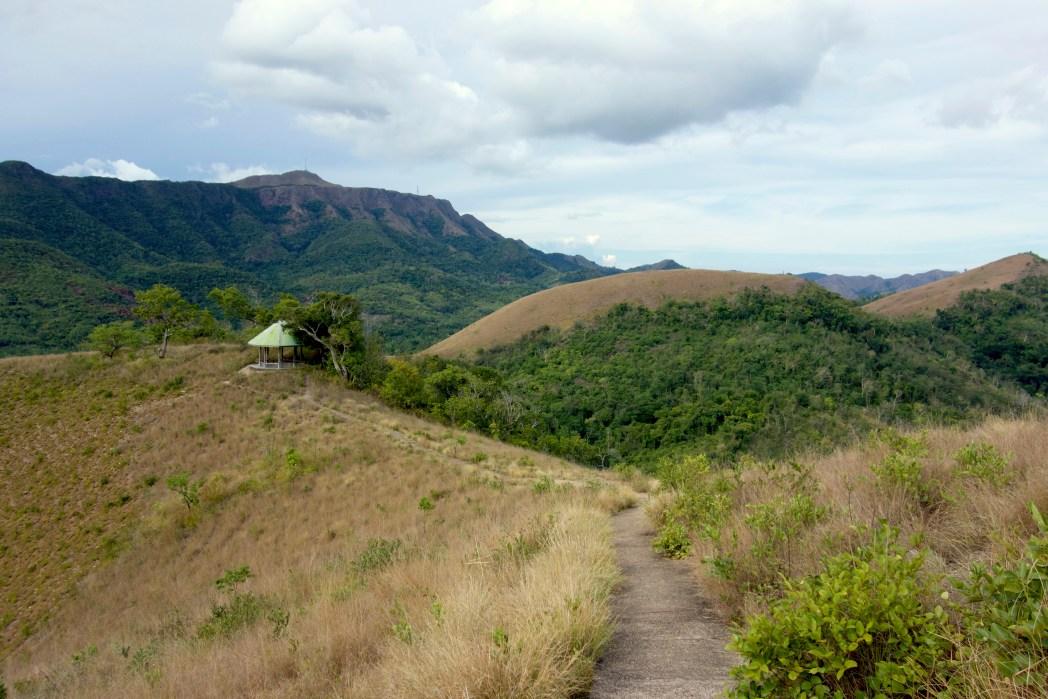 Lush scenery atop Mt. Tapyas